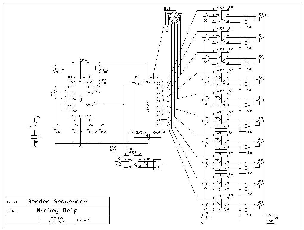 Schematic Diagram Program | Mickey Delp dot com
