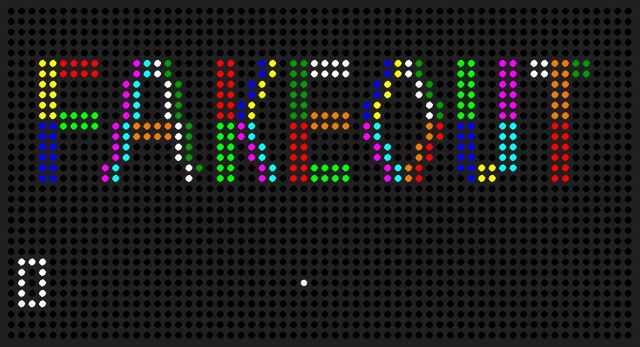 LED Matrix Game System   Mickey Delp dot com