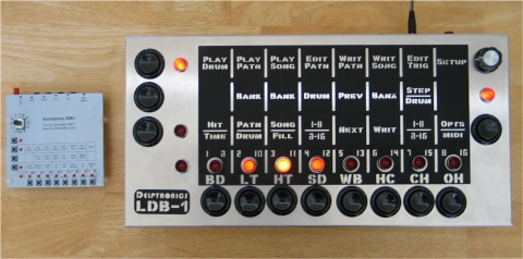 Giant LDB-1 Drum Machine