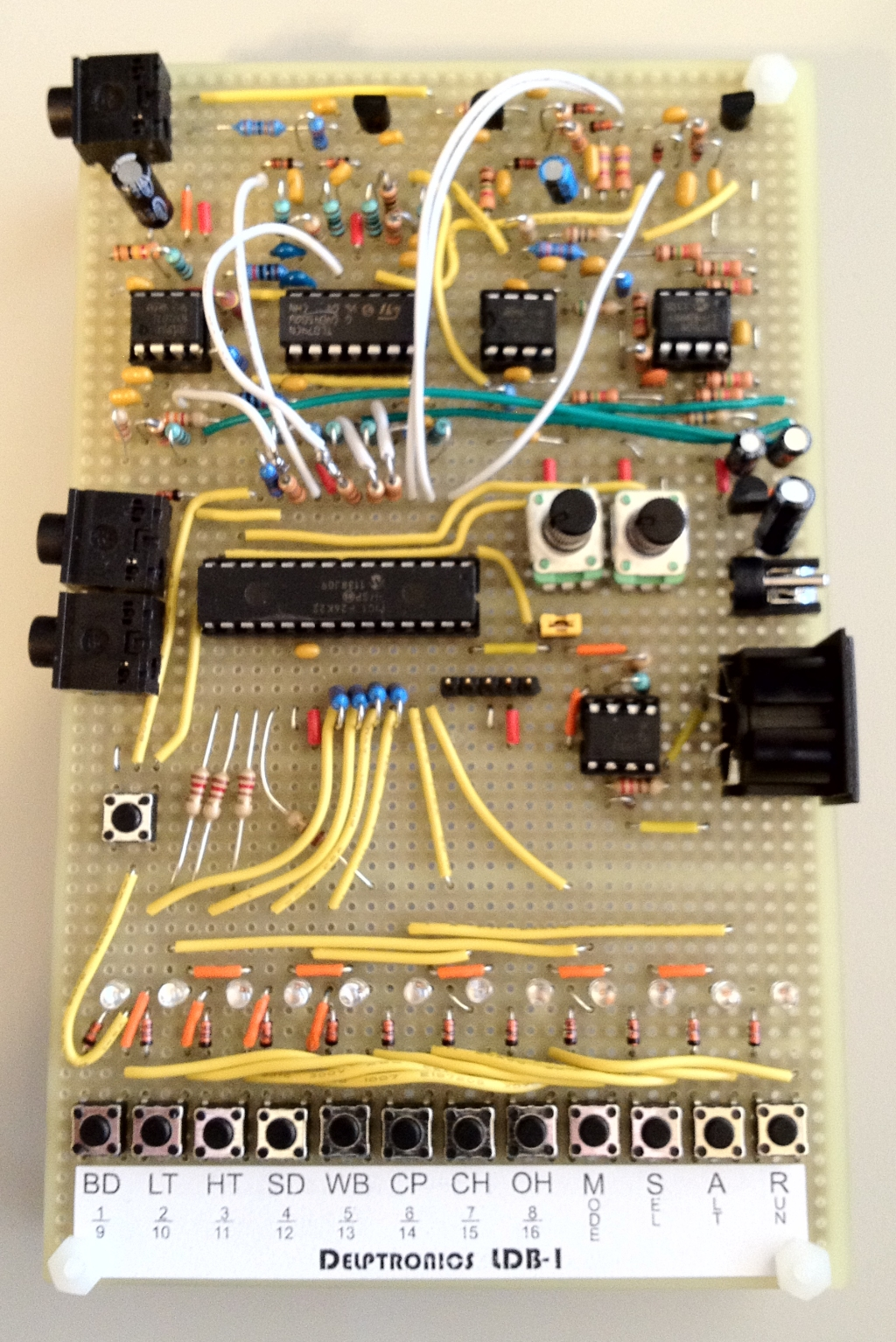 Anatomy Of A Drum Machine Mickey Delp Dot Com Printing Prices Buy Circuit Board Machinecircuit Ldb 1 Prototype