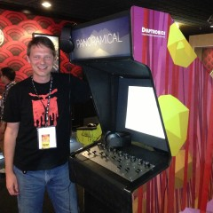 Panoramical Arcade Cabinet