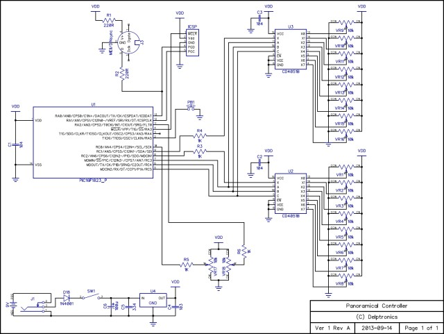 Panoramical Controller Schematic