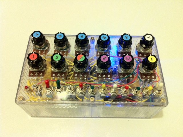 RadioShackSynth Top