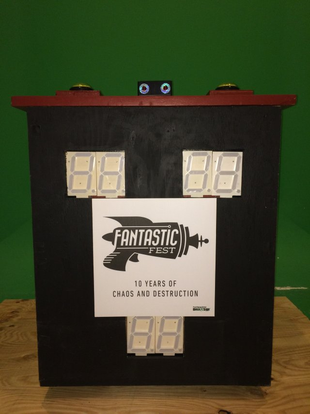 Feud Podium with Scoreboard